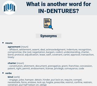 in-dentures, synonym in-dentures, another word for in-dentures, words like in-dentures, thesaurus in-dentures