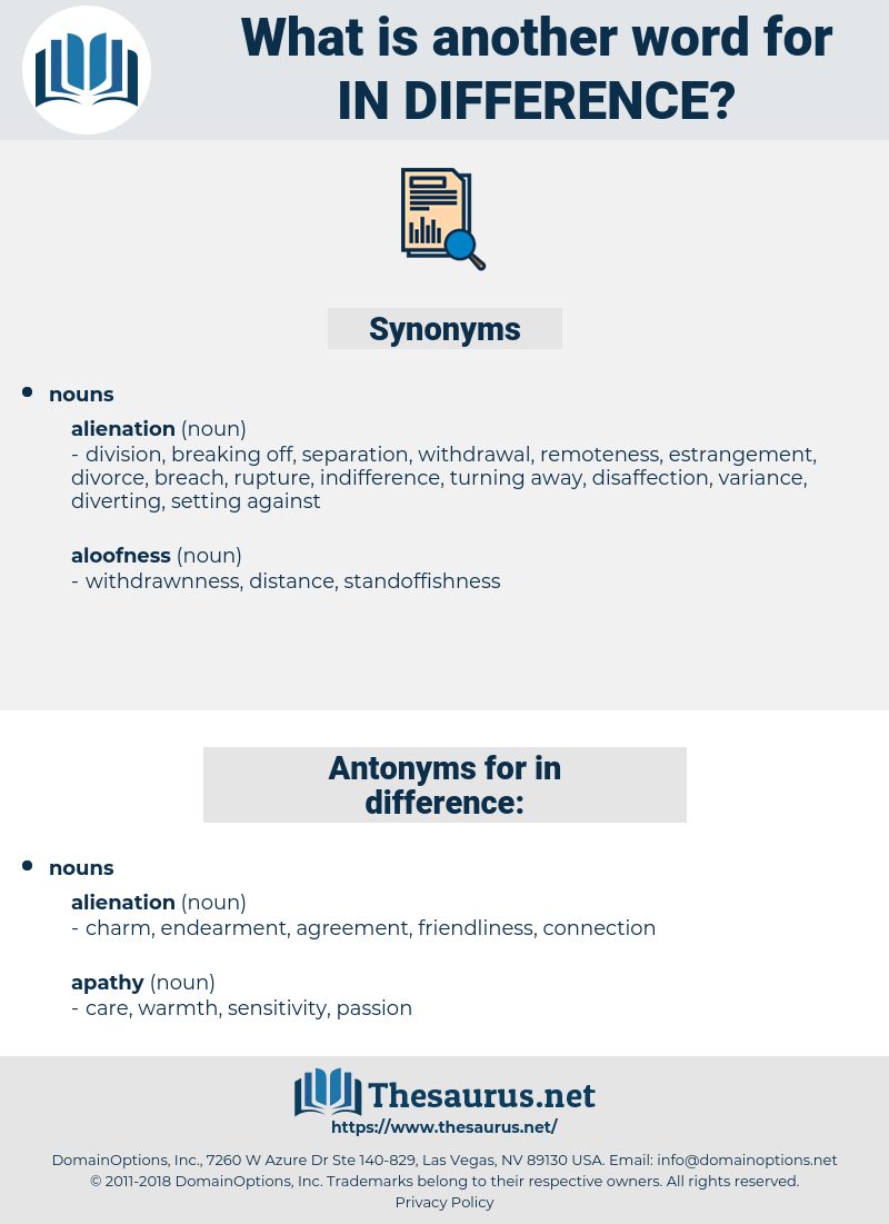 in-difference, synonym in-difference, another word for in-difference, words like in-difference, thesaurus in-difference