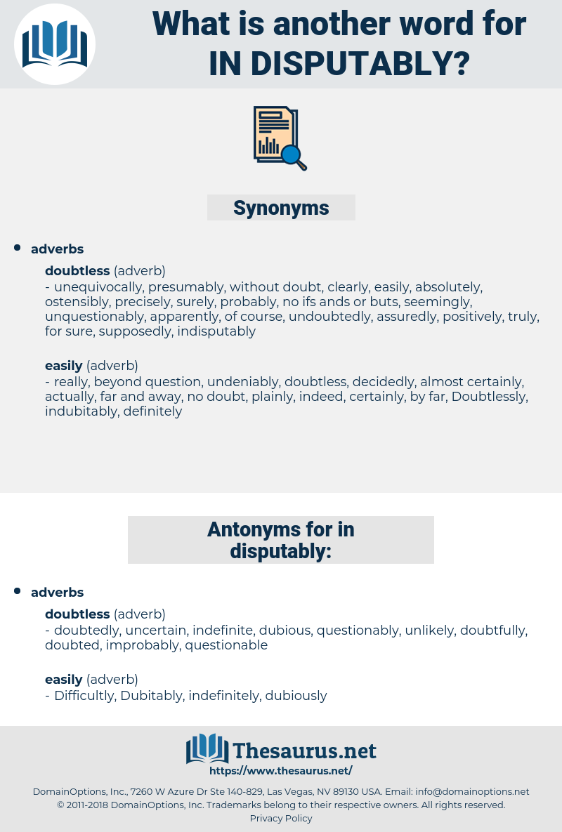 in-disputably, synonym in-disputably, another word for in-disputably, words like in-disputably, thesaurus in-disputably