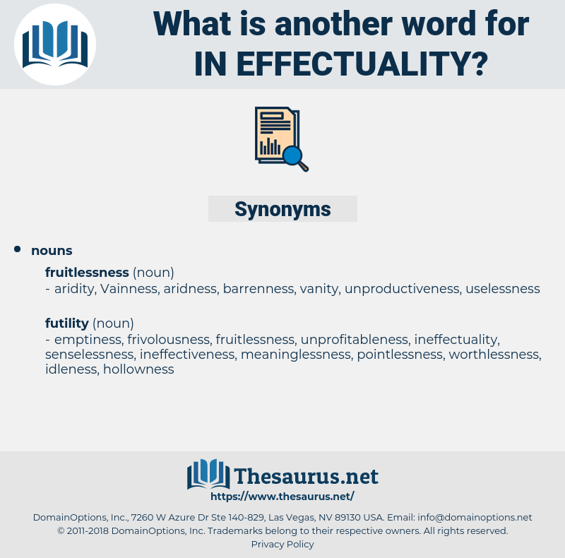 in-effectuality, synonym in-effectuality, another word for in-effectuality, words like in-effectuality, thesaurus in-effectuality