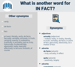 in fact, synonym in fact, another word for in fact, words like in fact, thesaurus in fact
