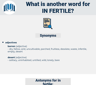 in fertile, synonym in fertile, another word for in fertile, words like in fertile, thesaurus in fertile
