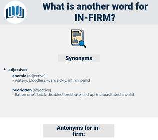 in firm, synonym in firm, another word for in firm, words like in firm, thesaurus in firm