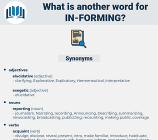 in forming, synonym in forming, another word for in forming, words like in forming, thesaurus in forming