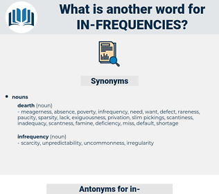 in frequencies, synonym in frequencies, another word for in frequencies, words like in frequencies, thesaurus in frequencies