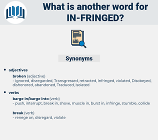 in-fringed, synonym in-fringed, another word for in-fringed, words like in-fringed, thesaurus in-fringed