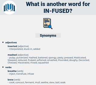 in-fused, synonym in-fused, another word for in-fused, words like in-fused, thesaurus in-fused