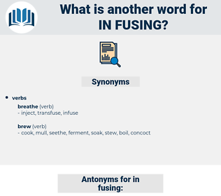 in-fusing, synonym in-fusing, another word for in-fusing, words like in-fusing, thesaurus in-fusing