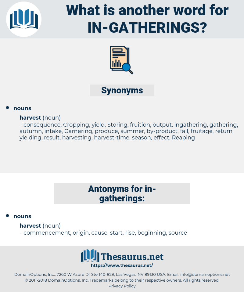 in-gatherings, synonym in-gatherings, another word for in-gatherings, words like in-gatherings, thesaurus in-gatherings