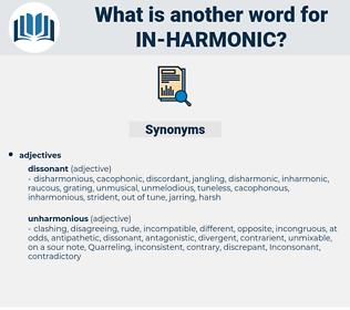 in harmonic, synonym in harmonic, another word for in harmonic, words like in harmonic, thesaurus in harmonic