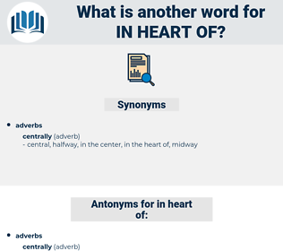 in heart of, synonym in heart of, another word for in heart of, words like in heart of, thesaurus in heart of