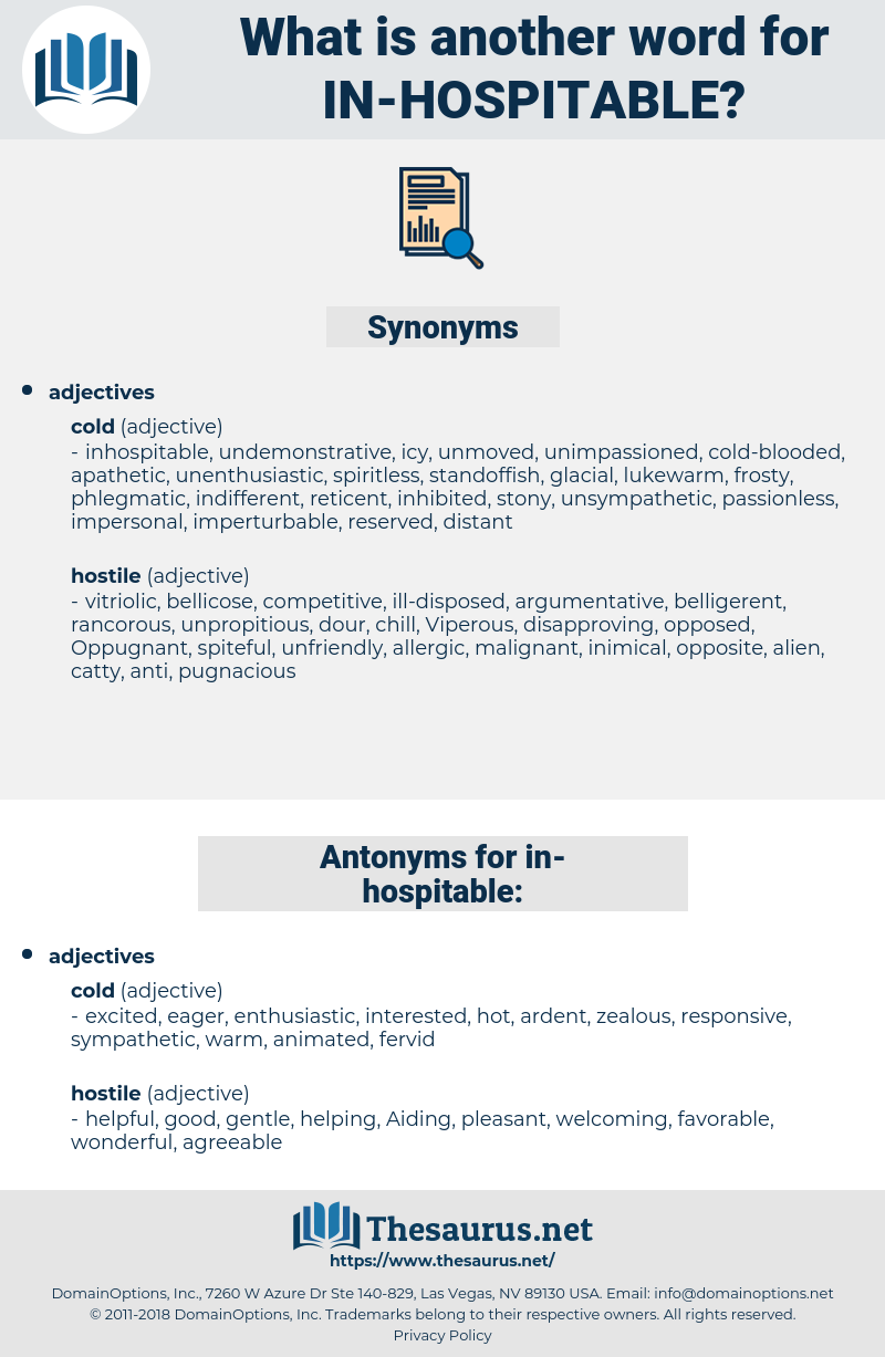 in hospitable, synonym in hospitable, another word for in hospitable, words like in hospitable, thesaurus in hospitable
