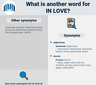 in love, synonym in love, another word for in love, words like in love, thesaurus in love