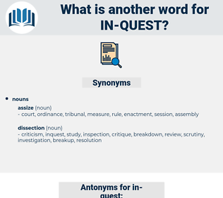 in-quest, synonym in-quest, another word for in-quest, words like in-quest, thesaurus in-quest