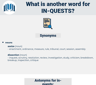in quests, synonym in quests, another word for in quests, words like in quests, thesaurus in quests