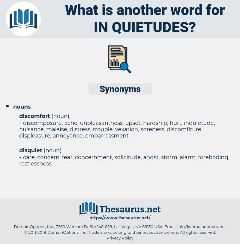 in quietudes, synonym in quietudes, another word for in quietudes, words like in quietudes, thesaurus in quietudes