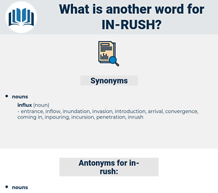 in rush, synonym in rush, another word for in rush, words like in rush, thesaurus in rush