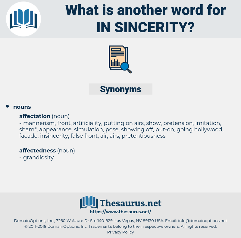 in sincerity, synonym in sincerity, another word for in sincerity, words like in sincerity, thesaurus in sincerity
