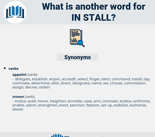 in stall, synonym in stall, another word for in stall, words like in stall, thesaurus in stall