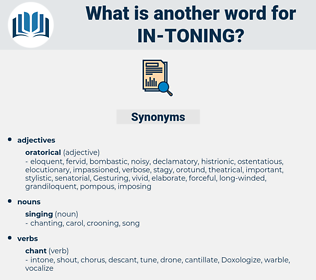 in-toning, synonym in-toning, another word for in-toning, words like in-toning, thesaurus in-toning