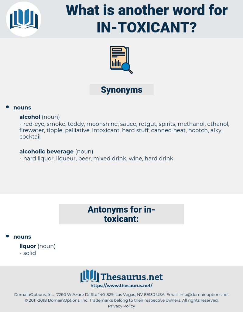 in toxicant, synonym in toxicant, another word for in toxicant, words like in toxicant, thesaurus in toxicant