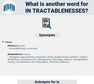 in tractablenesses, synonym in tractablenesses, another word for in tractablenesses, words like in tractablenesses, thesaurus in tractablenesses