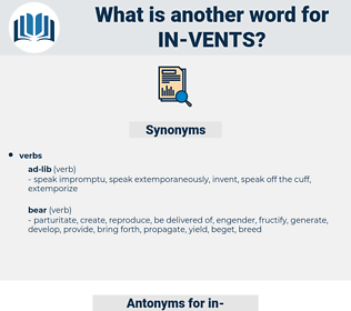 in-vents, synonym in-vents, another word for in-vents, words like in-vents, thesaurus in-vents