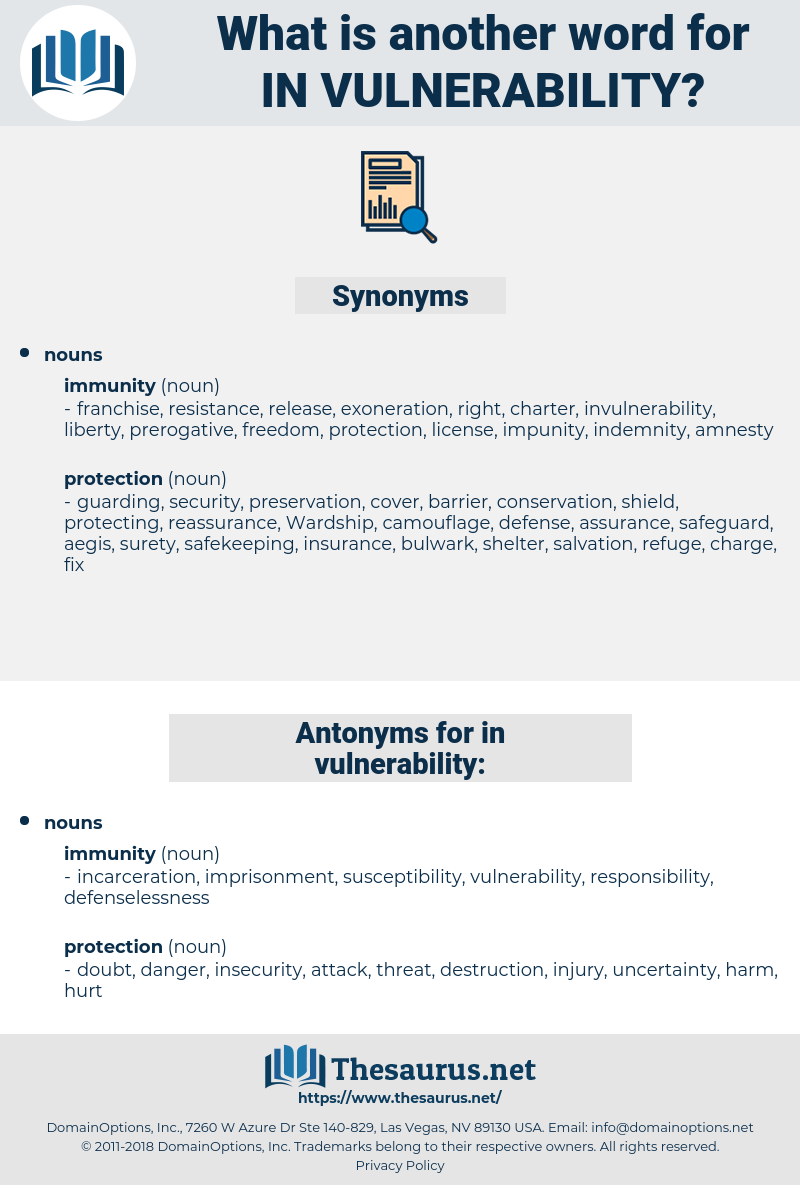 in vulnerability, synonym in vulnerability, another word for in vulnerability, words like in vulnerability, thesaurus in vulnerability