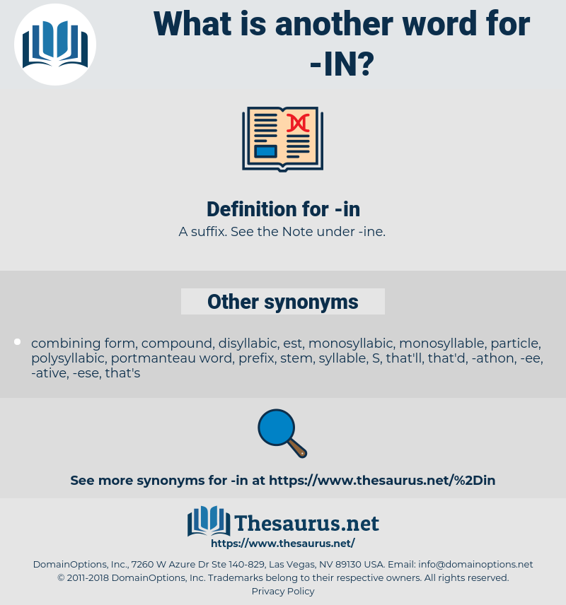in, synonym in, another word for in, words like in, thesaurus in