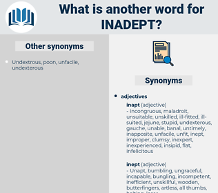 inadept, synonym inadept, another word for inadept, words like inadept, thesaurus inadept