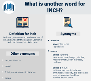 inch, synonym inch, another word for inch, words like inch, thesaurus inch