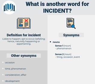 incident, synonym incident, another word for incident, words like incident, thesaurus incident