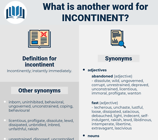 incontinent, synonym incontinent, another word for incontinent, words like incontinent, thesaurus incontinent