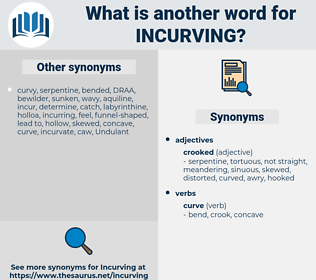 Incurving, synonym Incurving, another word for Incurving, words like Incurving, thesaurus Incurving