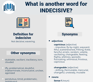 indecisive, synonym indecisive, another word for indecisive, words like indecisive, thesaurus indecisive