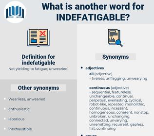 indefatigable, synonym indefatigable, another word for indefatigable, words like indefatigable, thesaurus indefatigable