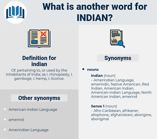 indian, synonym indian, another word for indian, words like indian, thesaurus indian