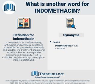 indomethacin, synonym indomethacin, another word for indomethacin, words like indomethacin, thesaurus indomethacin