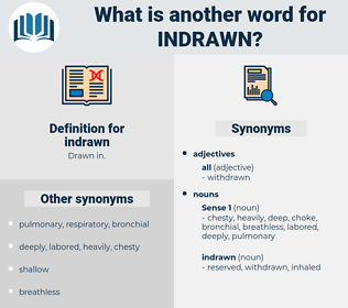 indrawn, synonym indrawn, another word for indrawn, words like indrawn, thesaurus indrawn