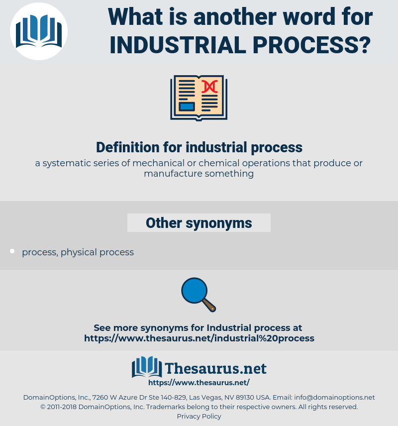 industrial process, synonym industrial process, another word for industrial process, words like industrial process, thesaurus industrial process