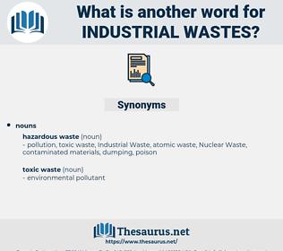 Industrial Wastes, synonym Industrial Wastes, another word for Industrial Wastes, words like Industrial Wastes, thesaurus Industrial Wastes
