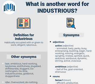 industrious, synonym industrious, another word for industrious, words like industrious, thesaurus industrious