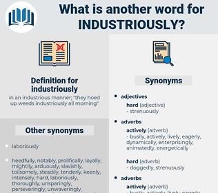 industriously, synonym industriously, another word for industriously, words like industriously, thesaurus industriously