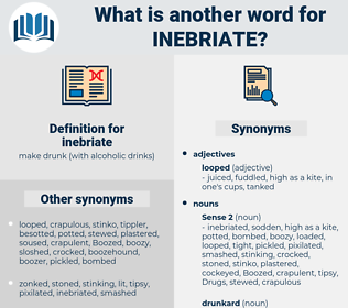 inebriate, synonym inebriate, another word for inebriate, words like inebriate, thesaurus inebriate