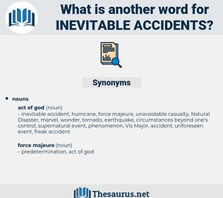 inevitable accidents, synonym inevitable accidents, another word for inevitable accidents, words like inevitable accidents, thesaurus inevitable accidents