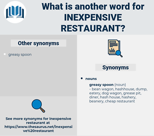 inexpensive restaurant, synonym inexpensive restaurant, another word for inexpensive restaurant, words like inexpensive restaurant, thesaurus inexpensive restaurant