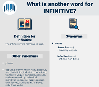infinitive, synonym infinitive, another word for infinitive, words like infinitive, thesaurus infinitive
