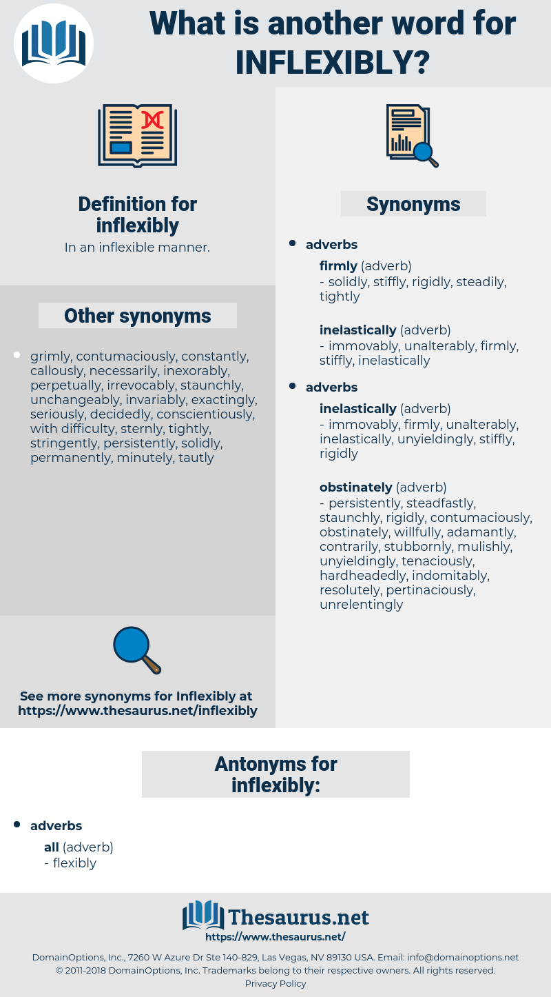 inflexibly, synonym inflexibly, another word for inflexibly, words like inflexibly, thesaurus inflexibly
