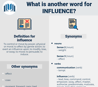influence, synonym influence, another word for influence, words like influence, thesaurus influence