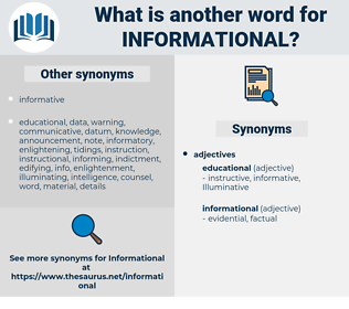 informational, synonym informational, another word for informational, words like informational, thesaurus informational